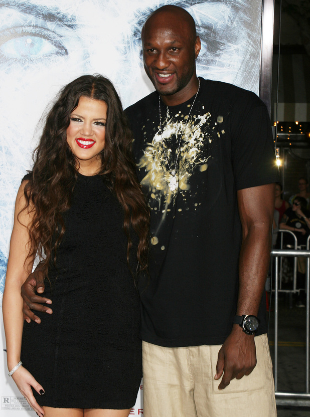 "Khloe Kardashian and Lamar Odom at premiere of ""Whiteout"". 9/9/2009"