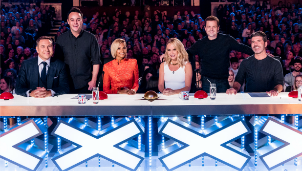 BRITAIN'S GOT TALENT coming soon to ITV and ITV2 DAVID WALLIAMS, ANT, ALESHA DIXON, AMANDA HOLDEN, DEC and SIMON COWELL.