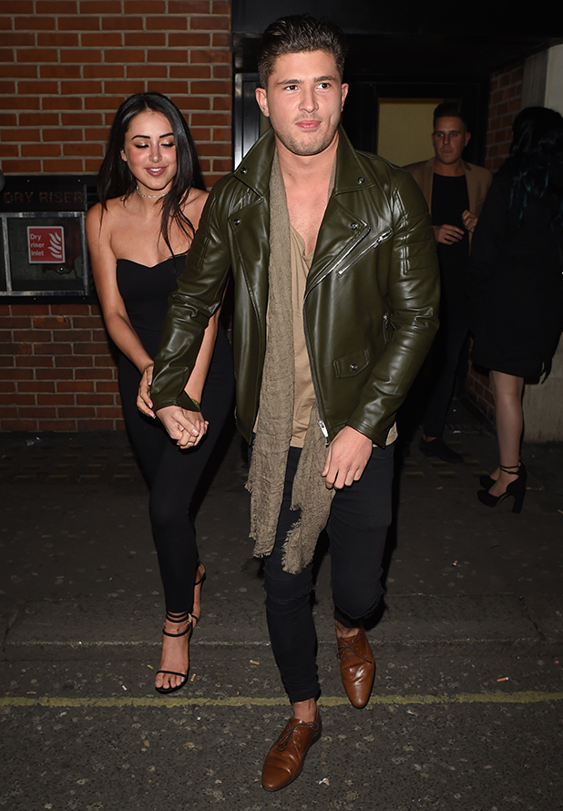 Jordan Davies and Marnie Simpson at In The Style Party Libertine, London 31 March 2016