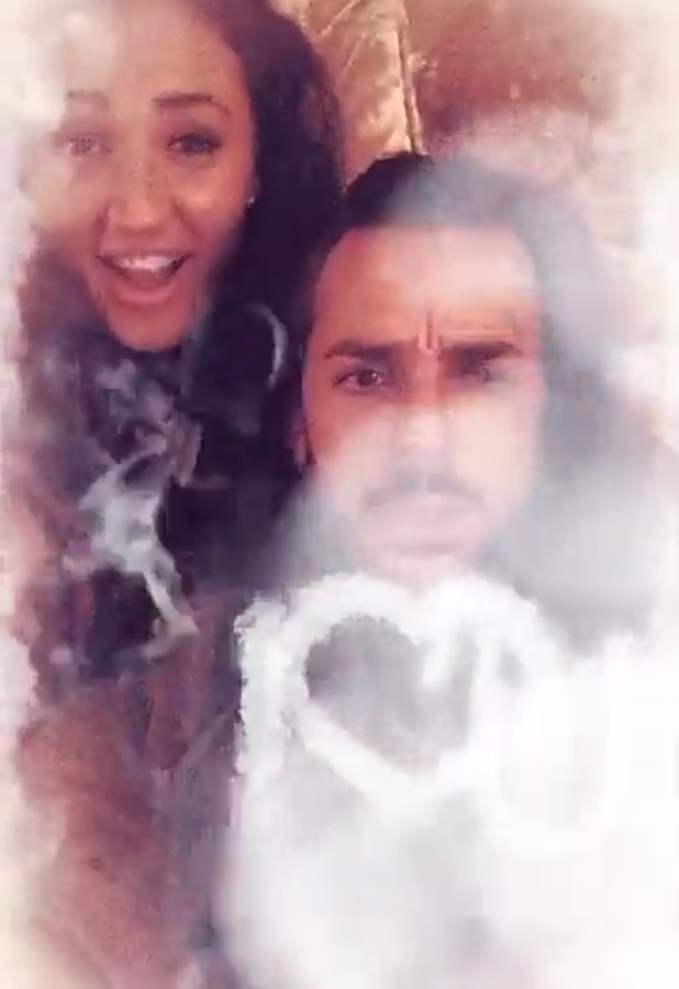 TOWIE's Pete Wicks accidentally says he loves Megan McKenna on Snapchat March 2016