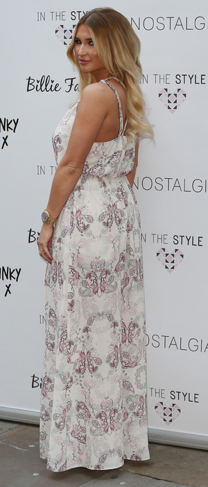 Billie Faiers, TOWIE at the In The Style collection launch party in London, 5th March 2016