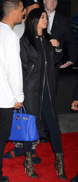 Keeping Up With The Kardashians star Kylie Jenner attends Barbershop: The Next Cut film premiere in Los Angeles, 6th March 2016