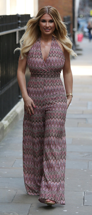 TOWIE star Billie Faiers unveils her new swimwear and fashion collection with In The Style, Soho Sanctum Hotel, London, 5th March 2016