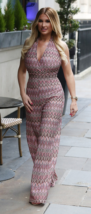 TOWIE's Billie Faiers unveils her new swimwear and fashion collection with online fashion brand In The Style, Soho Sanctum Hotel, London, 5th March 2016