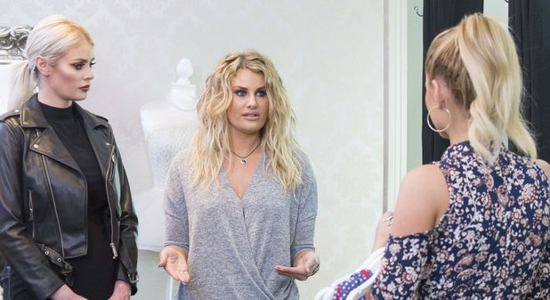 TOWIE's Danielle Armstrong, Chloe Sims and Billlie Faiers on shopping trip. 4 April 2016.