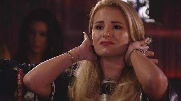 TOWIE Georgia cries. 10 April 2016.