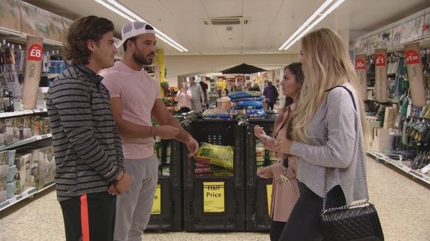 TOWIE: Chloe M confronts Mike. 10 April 2016.