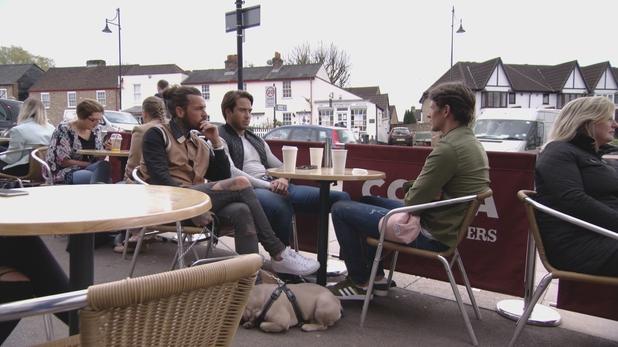 TOWIE: Pete, Lockie and Jake talk. 10 April 2016.