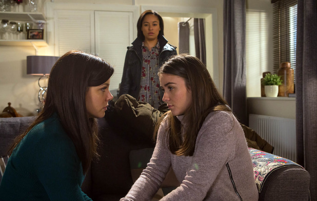 Caz is stunned when Kate reveals that she wants to postpone their wedding Coronation Street, 8 April 2016