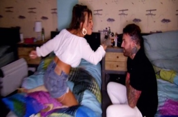 Geordie Shore episode four: Chantelle argues with Aaron. 5 April 2016.