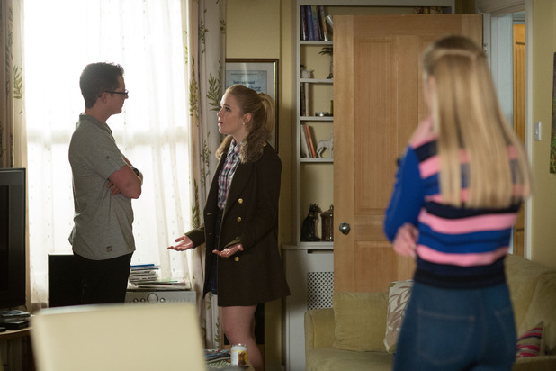 EastEnders - Abi, Ben and Louise. Monday 11 April 2016.