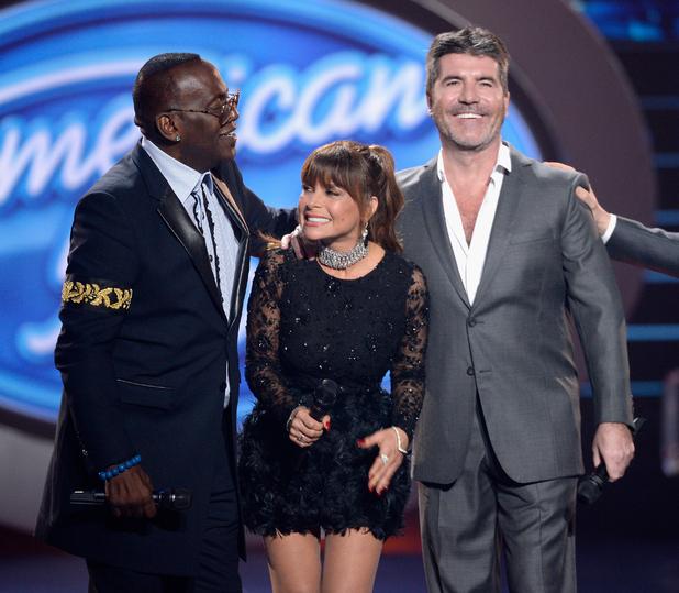 Tyra Banks James Corden: Simon Cowell Returns To American Idol, Reunites With Randy