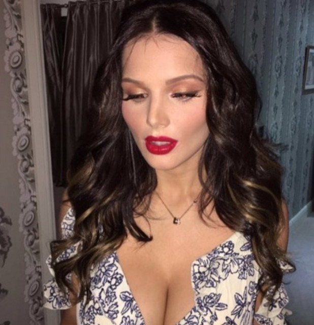 Helen Flanagan Shows Off Gorgeous Ombre Hair Extensions