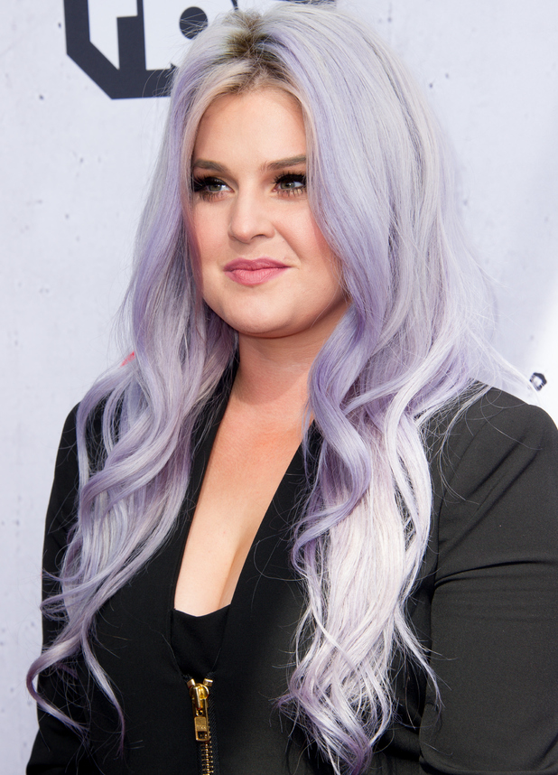 Kelly Osbourne arrives at the iHeartRadio Music Awards at The Forum on April 3, 2016 in Inglewood, California.