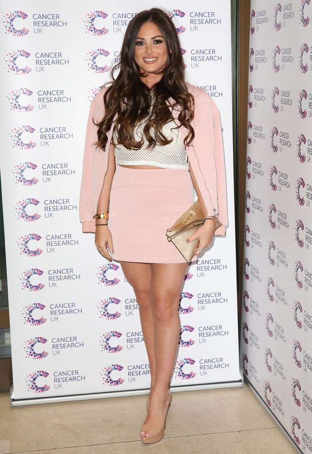 TOWIE's Courtney Green wears Topshop to Jog On To Cancer event in London, 7th April 2016