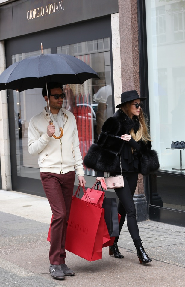 Made in Chelsea Filming - Mark-Francis Vandelli and Victoria Baker Harber 04/07/2016
