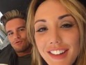 Charlotte Crosby and Gary 'Gaz' Beadle in bed together. 4 April 2016.