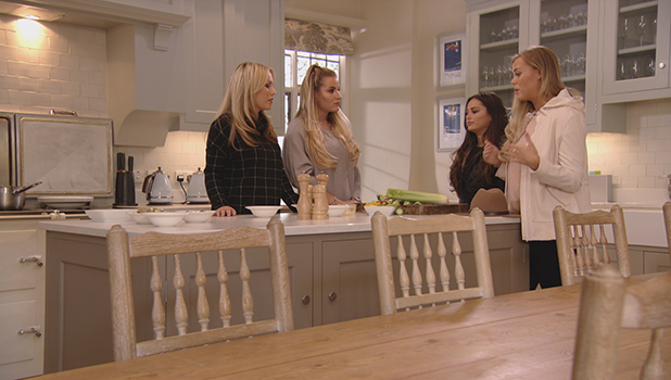 TOWIE Series 17, Episode 12 To air 6 April 2016 Chloe M and Courtney, Kate and Georgia