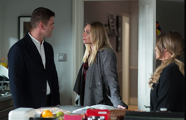 Jack confronts Ronnie and the pair come to blows about the secrets she's been hiding EastEnders, 7 April 2016