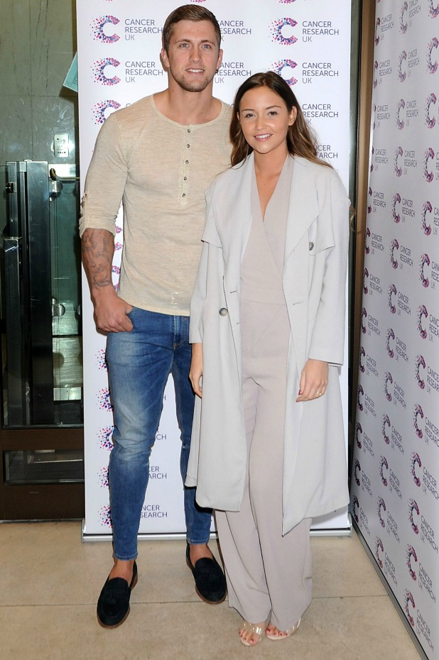 James Ingham's Jog-On to Cancer Part 4 Party, London, Britain - 07 Apr 2016 Dan Osbourne and Jacqueline Jossa