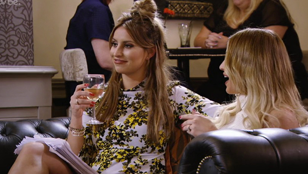 TOWIE Series 17, Episode 11 Ferne returns to have wine with Billie and Danielle