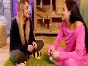 Geordie Shore episode 5: Marnie speaks to Charlotte. 12 April 2016.
