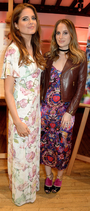 Binky Felstead and Rosie Fortescue (Made In Chelsea) attend the Liberty x Haagen Dazs party in London, 11th April 2016