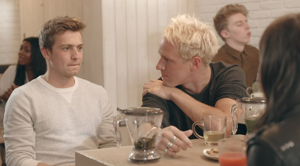 Made In Chelsea series 11 episode 1. Sam and Jamie. 30 March 2016.
