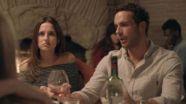 Made In Chelsea: Lucy and James. 11 April 2016.