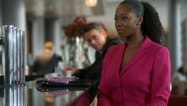 Jamelia stars as Helena Wales in Doctors, airing 20/4/2016.
