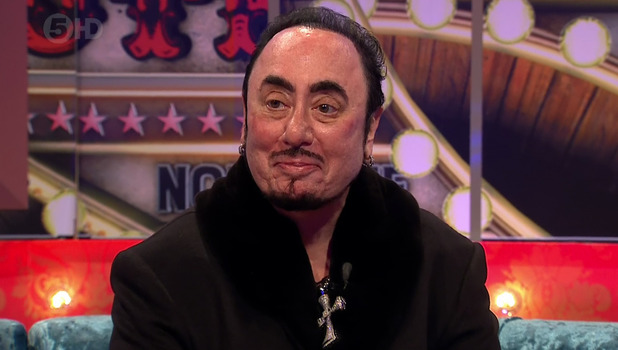 David Gest - 	Celebrity Big Brother's Bit On The Side - 26 January 2016.