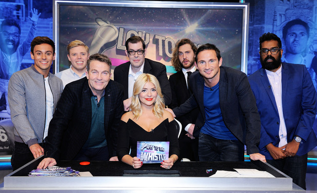 Play to the Whistle, Holly Willoughby, Bradley Walsh, Frank Lampard, Sat 16 Apr