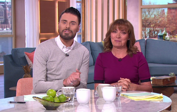 Rylan Clark opens up on honeymoon on This Morning, ITV 13 April