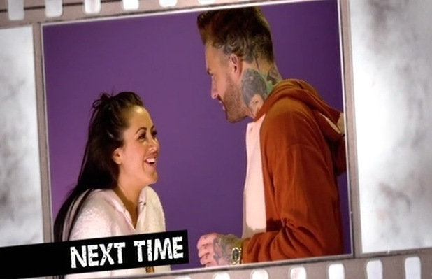 Geordie Shore sneak peek: Marnie drops the L-bomb to Aaron. 12 April 2016.