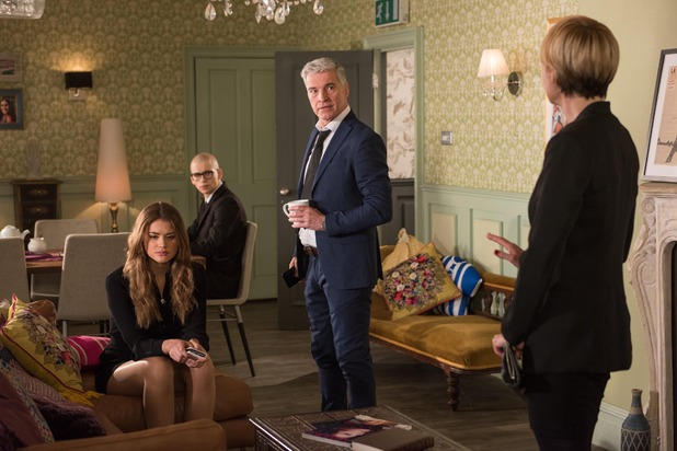 Hollyoaks, The Nightingales worry about Nathan, Tue 19 Apr