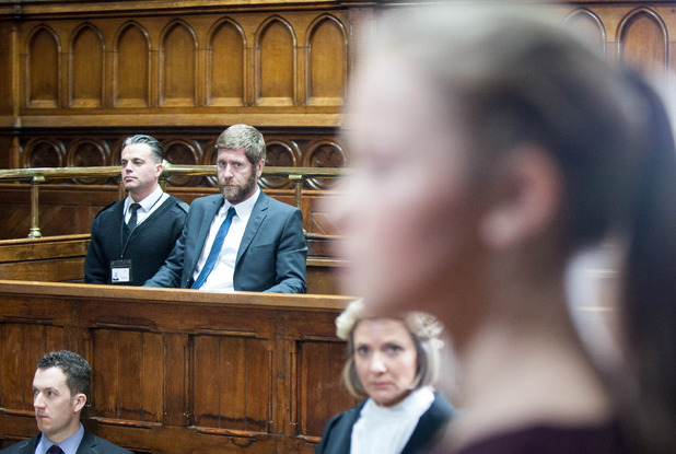 Emmerdale, Gordon and Liv in court, Thu 13 Apr