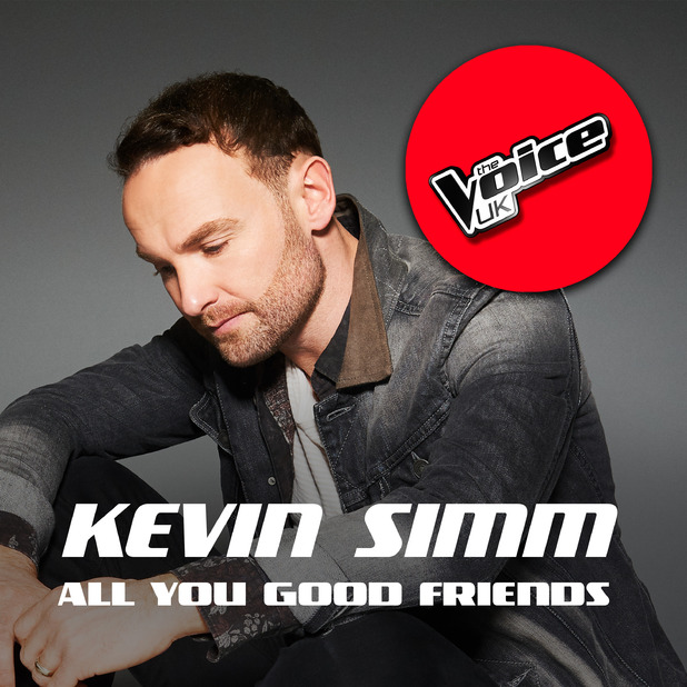 Kevin Simm - The Voice UK - single artwork cover. 10 April 2016.