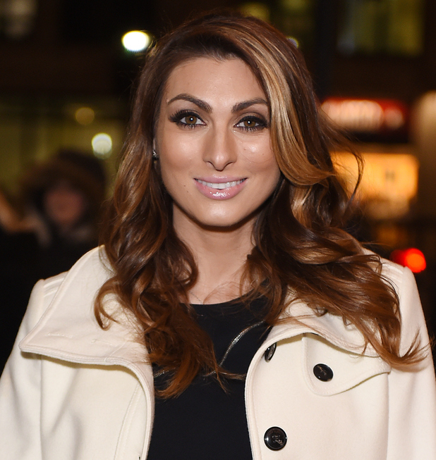 Luisa Zissman attends the Press night for 'Cirque Berserk!' at The Peacock Theatre on February 9, 2016 in London, England.