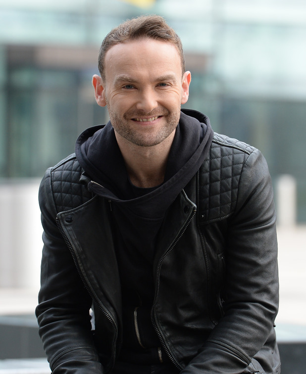 Kevin Simm - The Voice winner Kevin Simm spotted at the BBC Breakfast Studios. 11 April 2016.