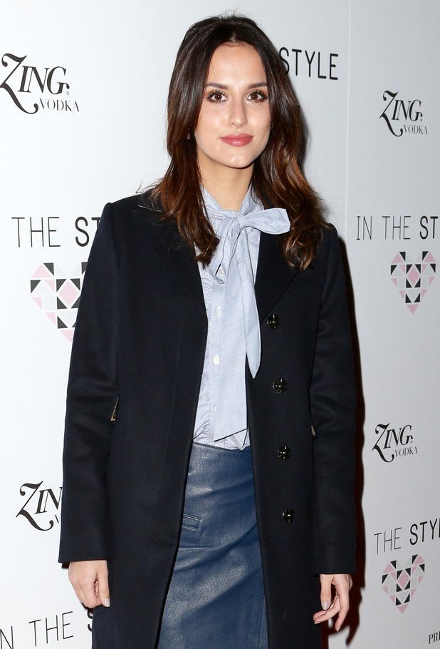 Lucy Watson - In The Style. 31 March 2016.