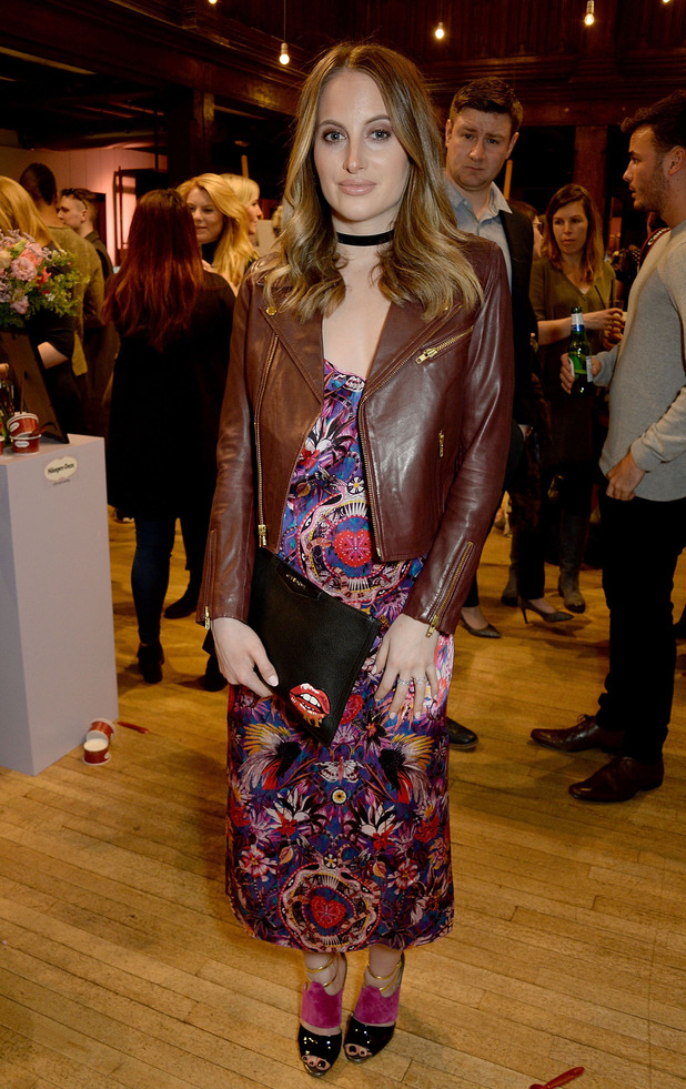 Made In Chelsea's Rosie Fortescue attends the Liberty x Haagen Dazs launch party in London, 11th April 2016