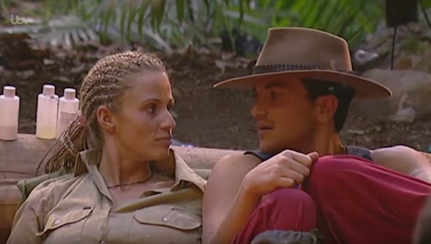 Katie Price and Peter Andre, I'm A Celebrity, Series 3