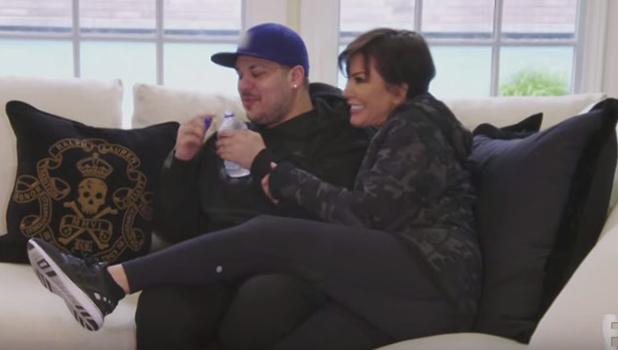 Rob Kardashian Keeping Up With Kardashians trailer, 2016