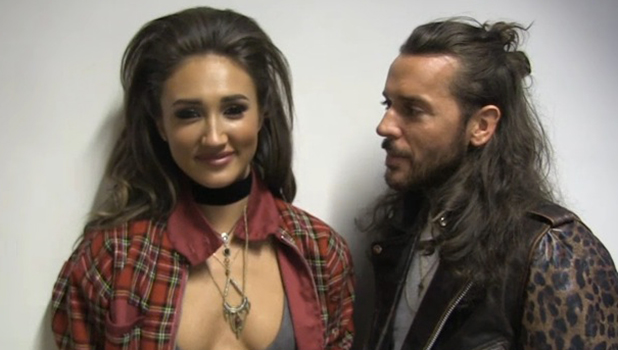 TOWIE's Megan McKenna and Pete Wicks talk to show's website, 14 April 2016