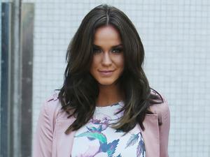 Vicky Pattison outside ITV Studios 20 April