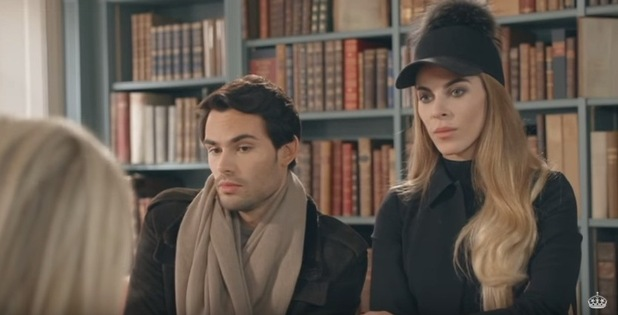 Made In Chelsea - episode three preview. Mark and Victoria. 21 April 2016.