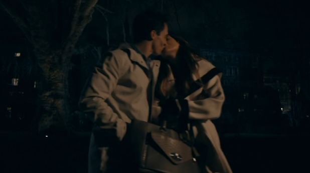 Made In Chelsea - episode two - Binky and JP kiss. 18 April 2016.