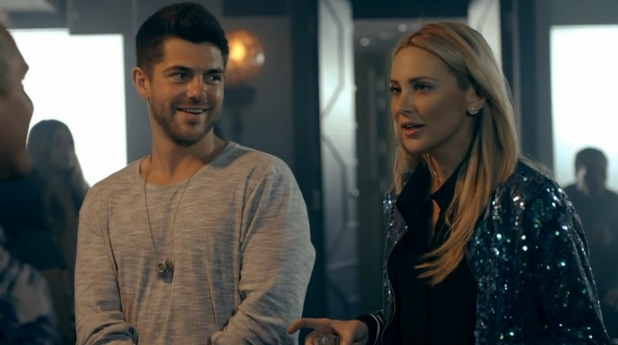 Made In Chelsea - episode two - Steph and Alex talk with Jamie. 18 April 2016.