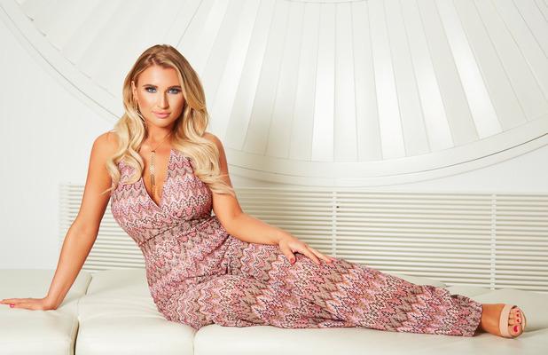TOWIE's Billie Faiers unveils new In The Style drop, chevron print jumpsuit, £39.99