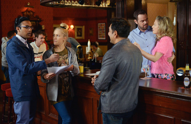 EastEnders, Masood wants to go with Nancy and Tamwar, Thu 21 Apr